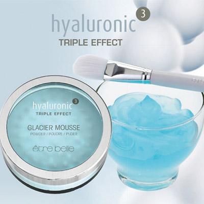 hyaluronic³ Glacier Mousse Puder