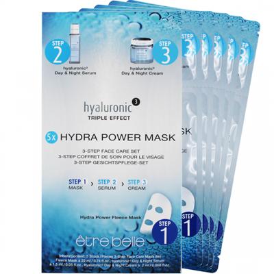 hyaluronic ³ Hydra Power Mask - 5er Set