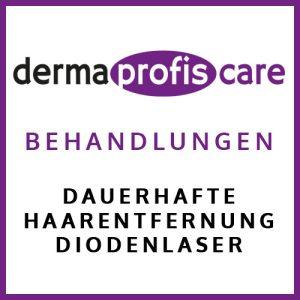 Dauerhafte Haarentfernung Diodenlaser